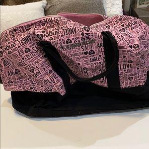 Victoria's Secret duffel bag